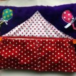 Tuto tapis d'éveil en 6 coussins + 1 : le coussin cirque