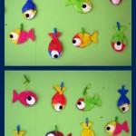 Bricolage : poissons dodus