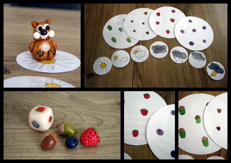 Le jeu de lu0026#39;u00e9cureuil Jeux et bricolages pour enfants ...