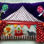 Tuto du tapis d'éveil en 9 coussins : le coussin cirque