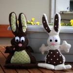 Doudou lapin (deux tutos et patrons)