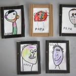 Bricolage : cadre pour la fête des pères