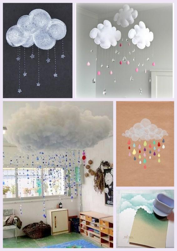 les jolies id es des autres 3 les nuages jeux et bricolages pour enfants id es et. Black Bedroom Furniture Sets. Home Design Ideas