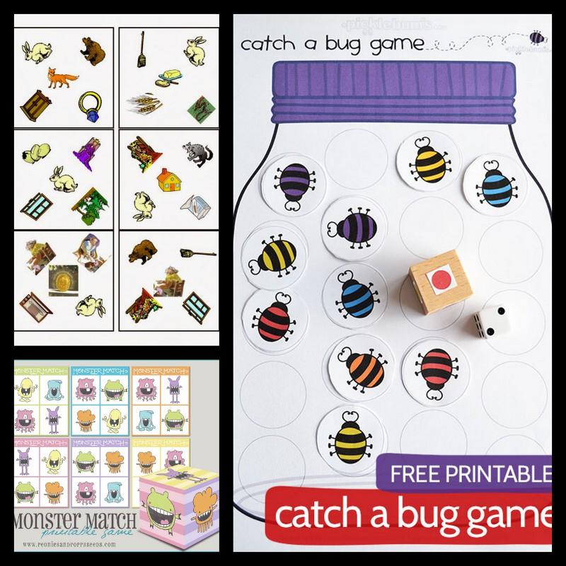 les jolies id es des autres des jeux fabriquer 3 jeux. Black Bedroom Furniture Sets. Home Design Ideas