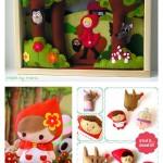 Les jolies idées des autres : le petit chaperon rouge #1