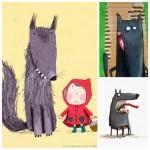 Les jolies idées des autres : le petit chaperon rouge #3 les illustrations