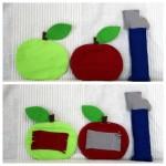 Tablier à comptines #4 : pomme de reinette