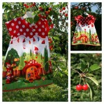 Collection P'tite Poulette : robe « gnomeville »