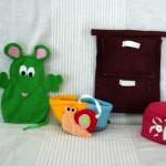 Tablier à comptines #5 : une souris verte
