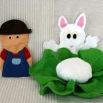 Tablier à comptines #3 : le lapin et le chou