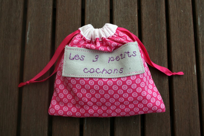 sac 3 petit cochons