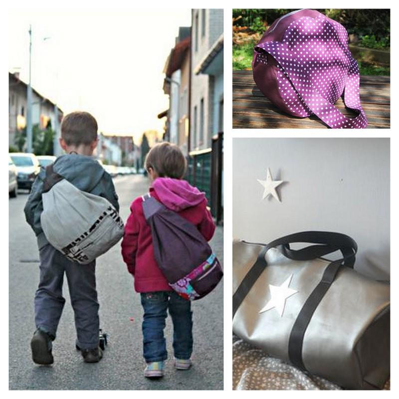 les id es et les tutos pour la rentr e 1 le sac de sport couture pour enfant les jolies. Black Bedroom Furniture Sets. Home Design Ideas