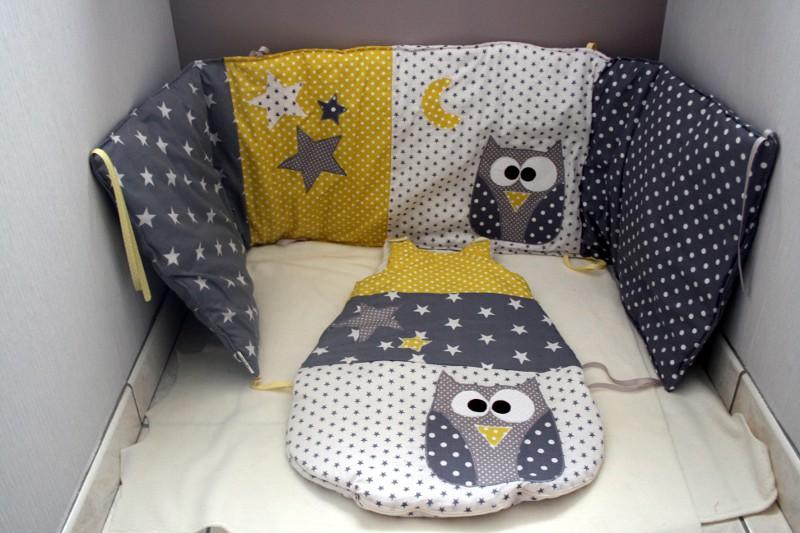 des toiles et des pois pour le dodo 2 la gigoteuse couture pour enfant isastuce. Black Bedroom Furniture Sets. Home Design Ideas
