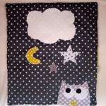 Des étoiles et des pois pour le dodo #3 : la couverture de landau