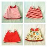 Marché : robes pour poupée
