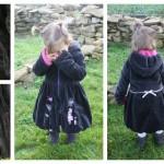 Collection P'tite Poulette : un manteau pour l'hiver