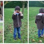 Collection P'tit Poulet : un manteau pour l'hiver