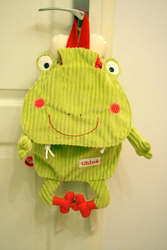 sac grenouille
