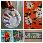 Les idées créatives du mercredi : les bonhommes de neige et la moufle
