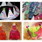 Les idées créatives du mercredi : les couronnes des reines et des rois !