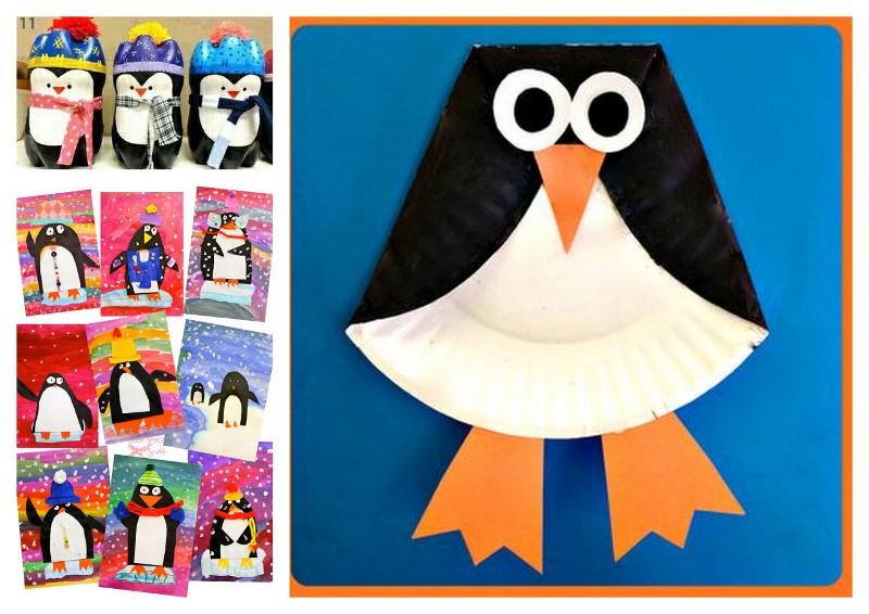 bridolage pingouin