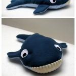 Fabrication d'un tapis à histoire : Petit poisson blanc (la baleine)