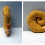 Fabrication d'un tapis à histoire : Petit poisson blanc (l'escargot)