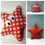 Fabrication d'un tapis à histoire : Petit poisson blanc (l'étoile de mer)