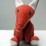Fabrication d'un tapis à histoire : La moufle (le renard n°2)