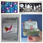Les jolies idées des autres : art plastique hivernal