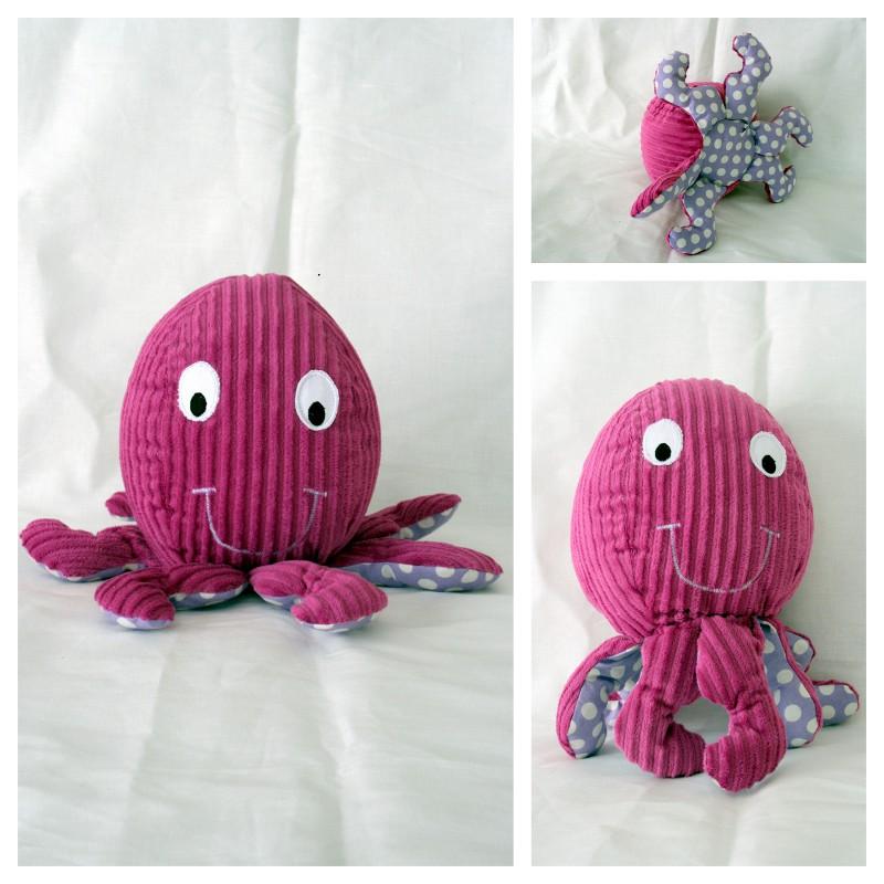 pieuvre doudou tapis a histoire