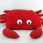 Tapis petit poisson blanc : les ass'mat au boulot (le crabe)