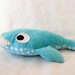 Tapis petit poisson blanc : les ass'mat au boulot (la baleine)