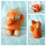 Le tapis à histoire de la moufle : Le renard