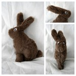 Le tapis à histoire de La petite taupe qui voulait savoir qui lui avait fait sur la tête : le lapin
