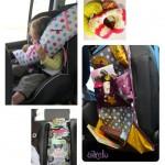 Les jolies idées des autres : pour bien voyager en voiture DIY