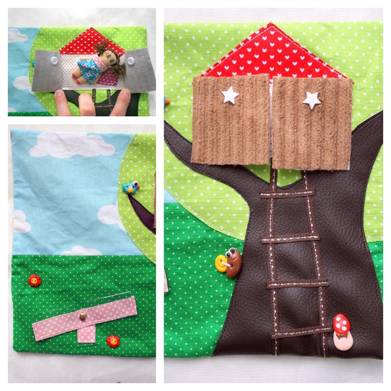 jardin maison de poupée