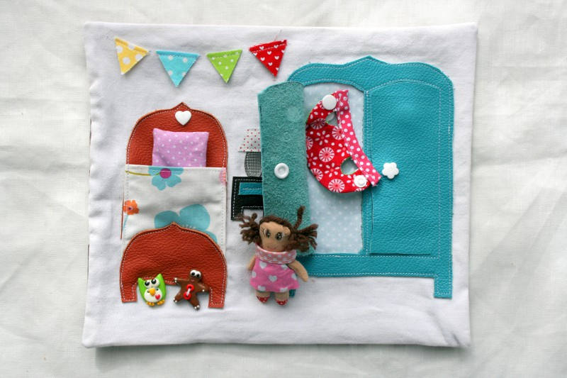ma maison de poup 233 e en tissu la chambre couture pour enfant jeux et bricolages pour enfants