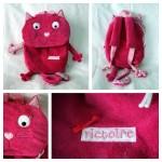 Un sac à dos chat nommé Victoire