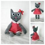 Une poupée chat nommée Zoé