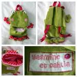 Un sac à dos grenouille pour changer des chats !!!