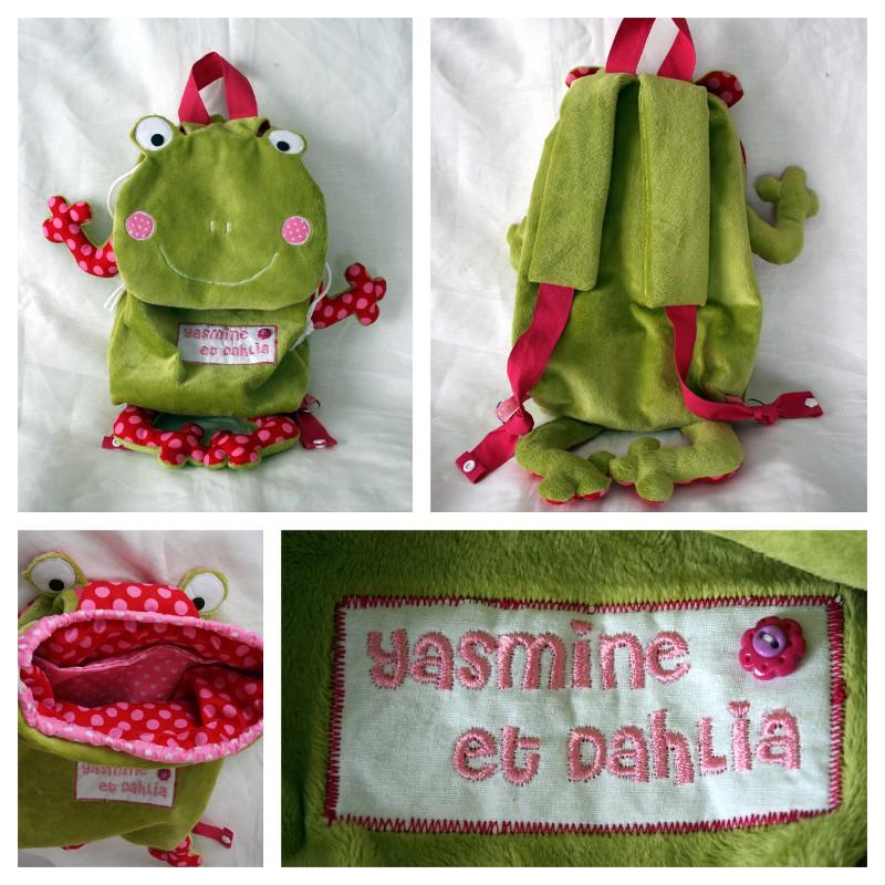 sac a dos grenouille