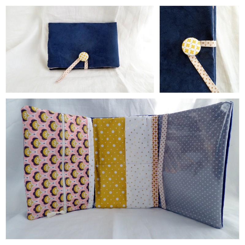 un petit cadeau fait maison la pochette multi poche couture pour les grands isastuce. Black Bedroom Furniture Sets. Home Design Ideas