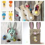 Les jolies idées des autres pour Pâques : Les lapins !