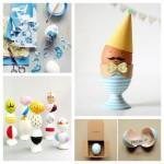 Les jolies idées des autres pour Pâques : les oeufs décorés