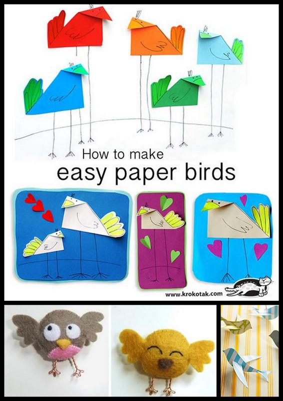 bricolage oiseau