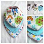 Des cadeaux fait maison pour gâter des bébés #4 : bavettes et chaussons