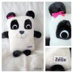 Un doudou panda nommé Zélie