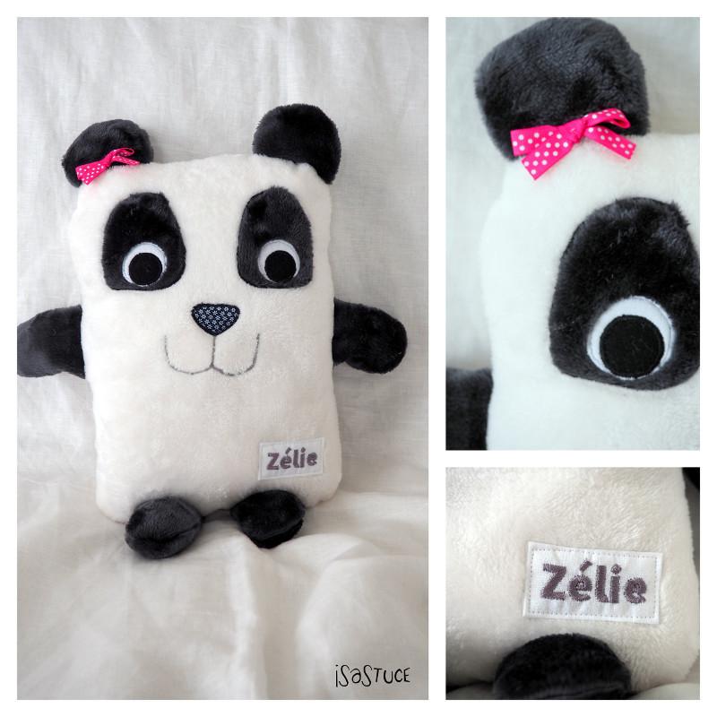 doudou coussin panda