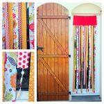 Un rideau de porte contre les mouches